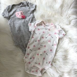 Carter's 3 month bodysuits